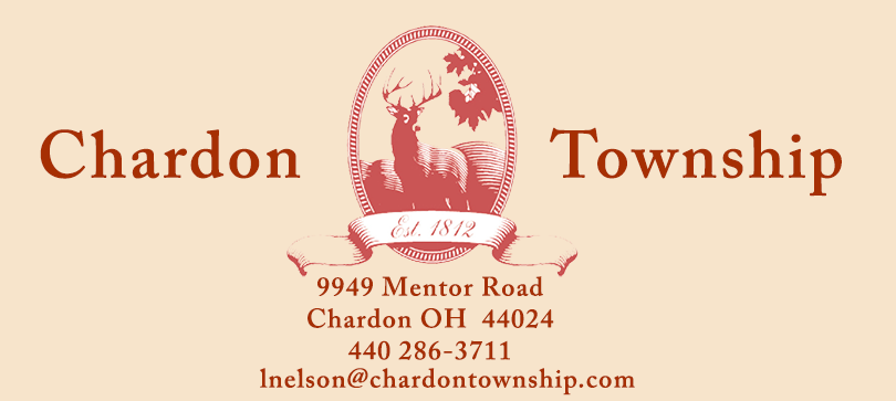 chardon logo with address